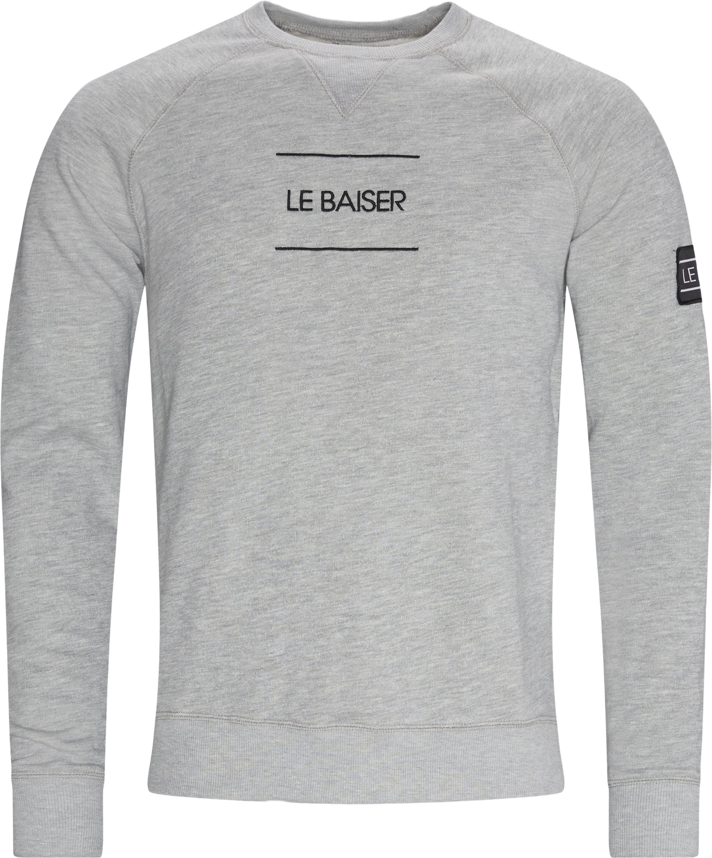 Bayonne Crewneck Sweatshirt - Sweatshirts - Regular - Grå